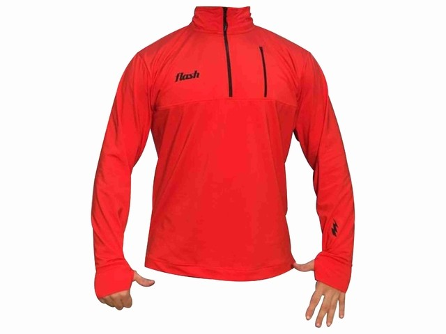 Buzo FLASH Training top rojo - comprar online