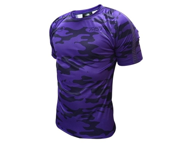 Remera running LIONS XV Fast Camouflaged