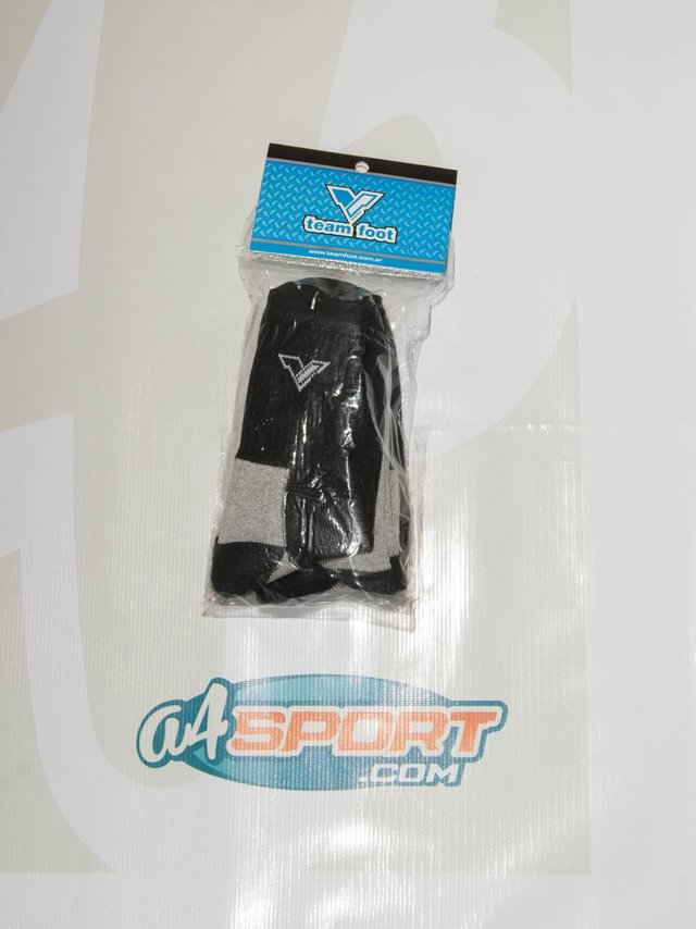 Pack de medias TEAM FOOT caña media negro - comprar online