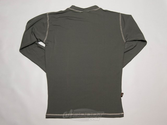 Remera termica manga larga FLASH gris - comprar online