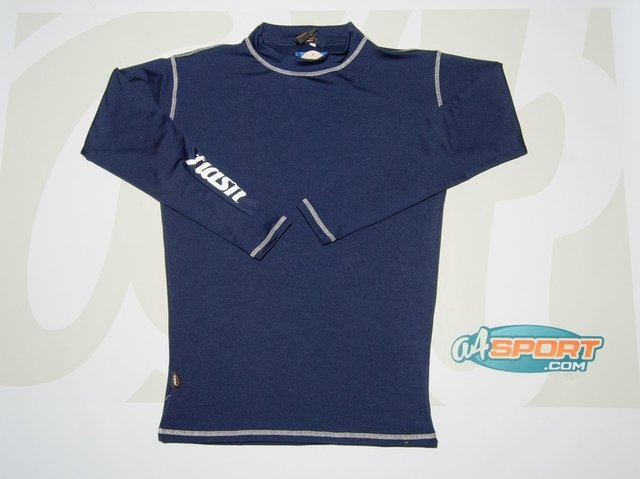 Remera térmica manga larga FLASH azul