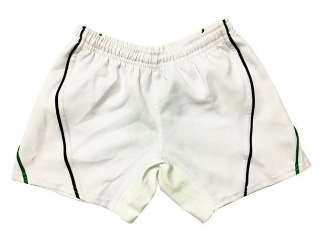Short de rugby FLASH liso blanco