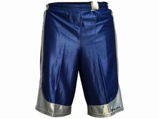 Short reversible TEAM FOOT Miami azul/plata