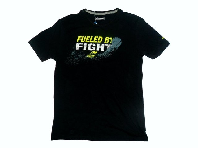 Remera BABOLAT Fueled by Fight negro - comprar online