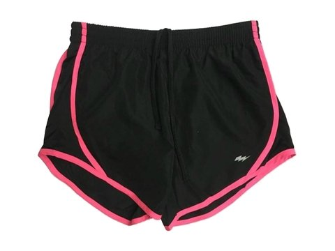 Short training FLASH negro/rosa - comprar online
