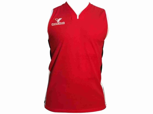Camiseta de básquet TEAM FOOT Thunder rojo en internet
