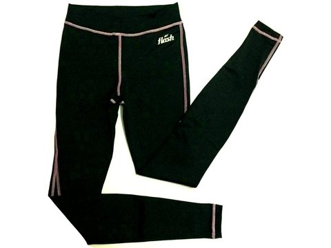 Calza larga femenina FLASH negro