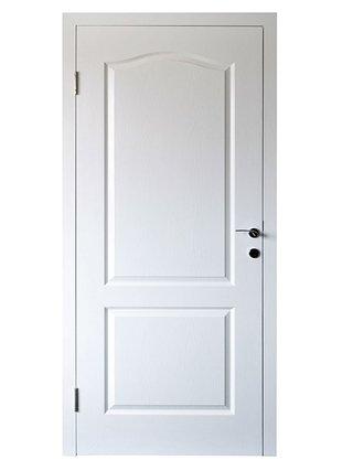 Puerta de melamina de 0 80x2 00 con moldura marco de for Porte 60x200