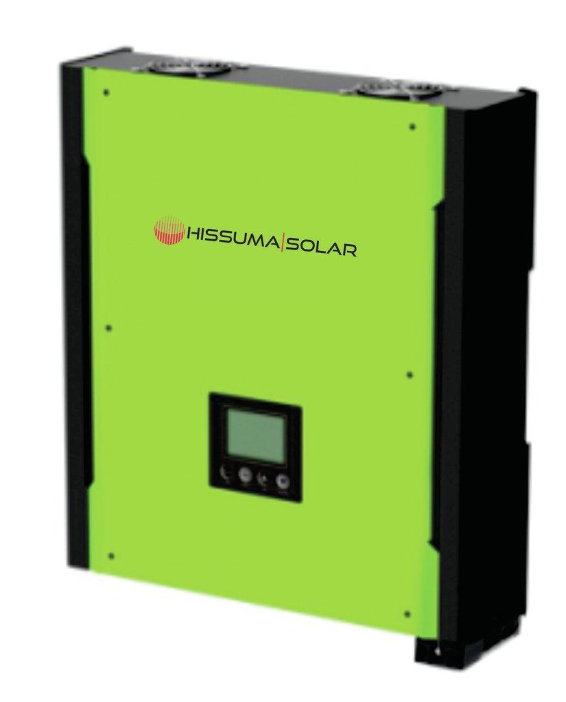 Inversor Hibrido p/sist solar 5,50Kw 48V-220V c/cargador y soft de monitoreo