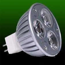 Lampara Dicroica ECOLED 12V 6W AMARILLA zocalo MR16 (BI PIN)