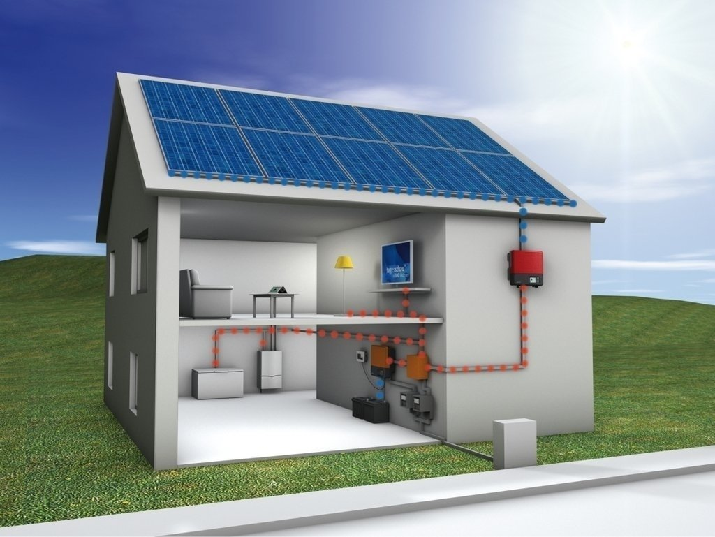 Grupo Electrógeno Solar HISSUMA SOLAR 10kw 380V (trifasico)