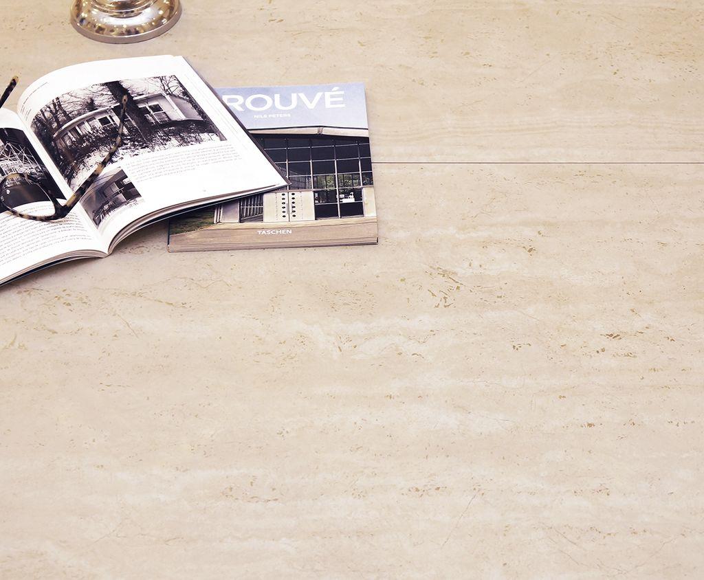 Porcelanato Rustico+Rectificado 63x108 TRAVERTINO CLASICO