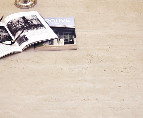 Porcelanato Rustico+Rectificado 63x108 TRAVERTINO CLASICO - comprar online