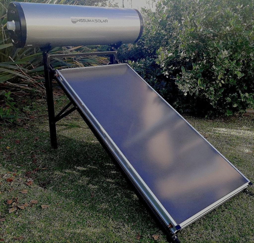 Termotanque Solar HISSUMA SOLAR placa plana NO PRESURIZADO