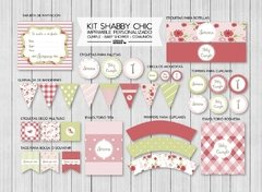 KIT IMPRIMIBLE FIESTA SHABBY CHIC PREMIUM en internet