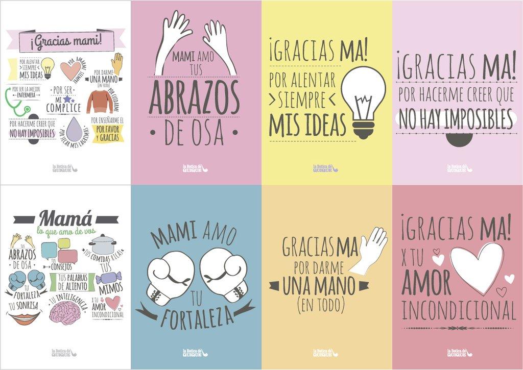 Tarjetas Día De La Madre Kit 1 Hogar Y Muebles