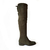 Thigh-high Borgia hunter green Boot - buy online