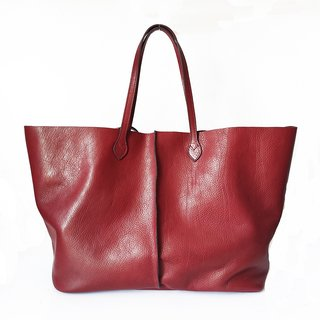 Shopping bag Lisa bordo