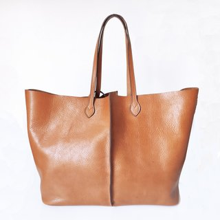 Shopping bag Lisa caramelo