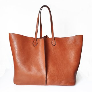 Shopping bag Lisa orange