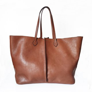 Shopping bag Lisa tabaco