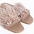 Nude Miuccia Flat Sandal with Feathers - online store