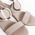 Nude Rio Sandal With metal Buckle - online store
