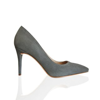 Stiletto Gamuza gris