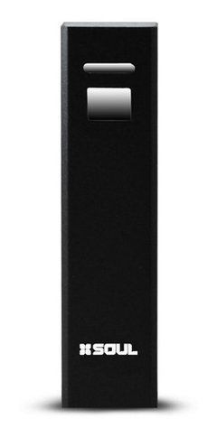Cargador Portable 2600 Mah Nx-00 Negro Soul Power Banks