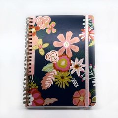 Notbook Grande - Flower Power