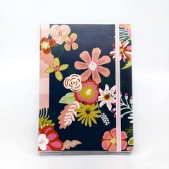 Notbook Grande - Flower Power - TINTHA