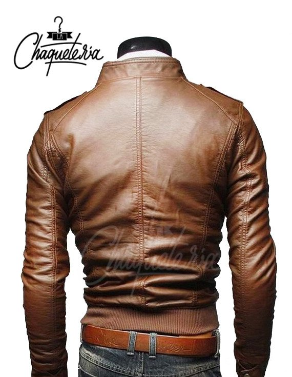 Chaqueta En Cuero Toshi Light Honey en internet