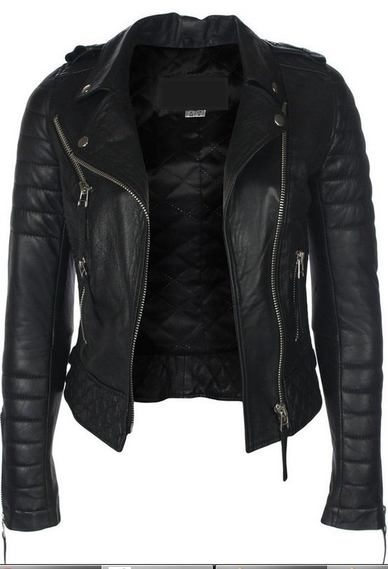 mejor servicio e549a bd2b6 Home > Ropa de mujer > LEATHER WOMEN´S JACKETS > Leather jacket MUJER; REF:  NINA BLACK - Leather jacket MUJER; REF: NINA BLACK -
