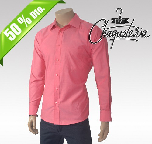 Camisa Algodón Slim Fit andre Red