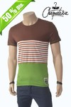 Camiseta Algod�n Slim Fit Dote