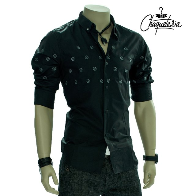 Camisa Algodón Slim Fit dove en internet
