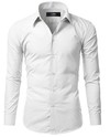 Camisa Algodon Slim Fit Lcc66 White