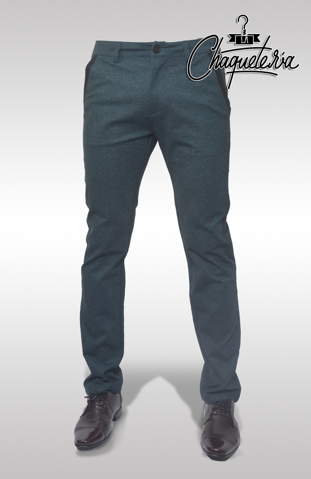 Pantalón Slim Fit Loto Green