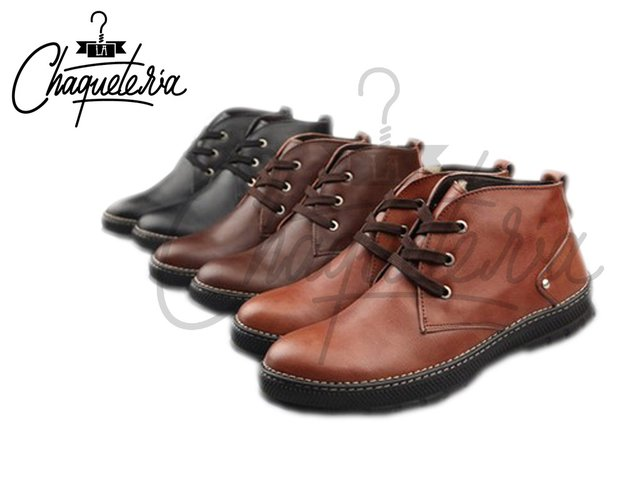 Botas En Cuero Seconda Brown