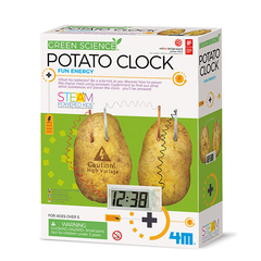 Ciencia Verde Potato Clock 4M