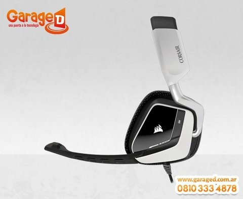 Headset Corsair VOID USB Dolby 7.1 White - Garage D