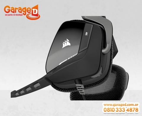 Headset Corsair VOID USB Dolby 7.1 Black en internet