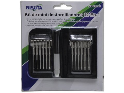 Kit de 12 mini destornilladores (NS-K5212) en internet