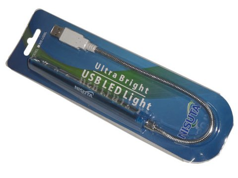 LUZ USB (NS-USBL) ULTRABRILLANTE PARA PC