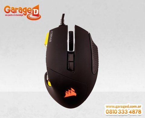 Mouse Corsair Gaming Scimitar RGB 12000 DPI Optical MOBA/MMO - Garage D
