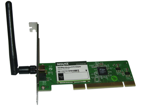 Placa PCI WiFi Nisuta NS-WIP150N