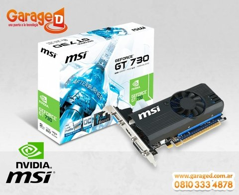 VGA MSI N730 2GB DDR5 N730K-2GD5LP/OC