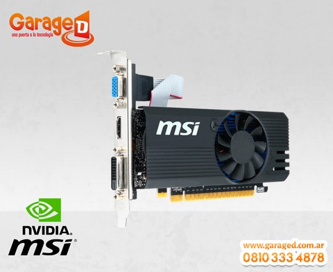 VGA MSI N730 2GB DDR5 N730K-2GD5LP/OC - Garage D