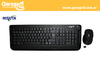 Teclado  y mouse wireless USB con 16 teclas multimedia