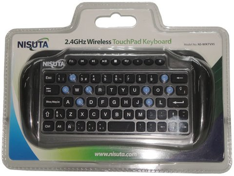 Teclado (NS-WIKTV95) wireless mini con pad ideal smart TV en internet